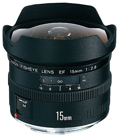 Объектив Canon EF 15 mm f/2.8 Fisheye