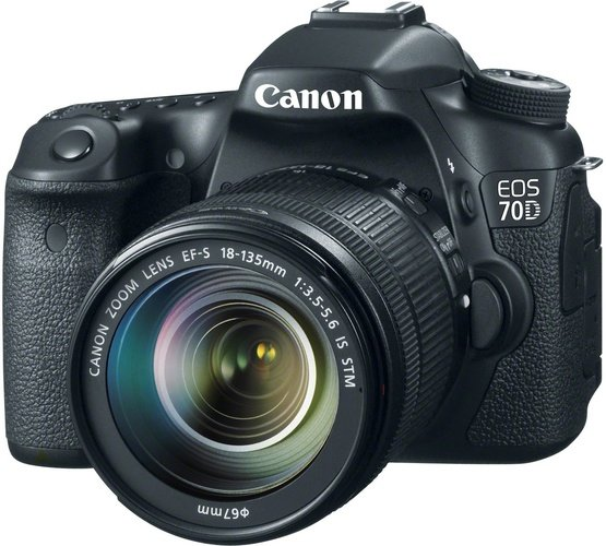 Фотоаппарат Canon EOS 70D Kit 18-135 IS STM