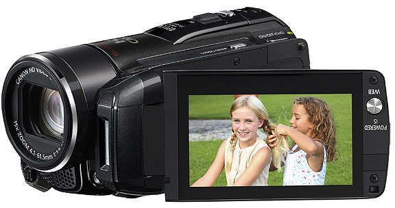 The canon vixia hf m50 has the ability to back up your footage directly to an external usb hard drive