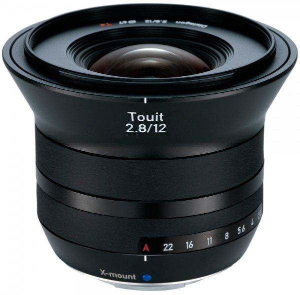 Объектив Carl Zeiss Touit 2.8/12 X-mount