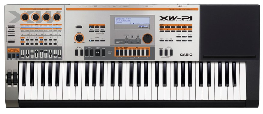 Синтезатор Casio XW-P1 фото