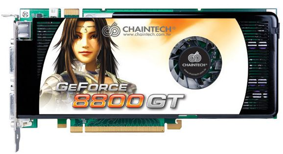 Видеокарта Chaintech GSE88GT GeForce 8800GT 512Mb 256bit
