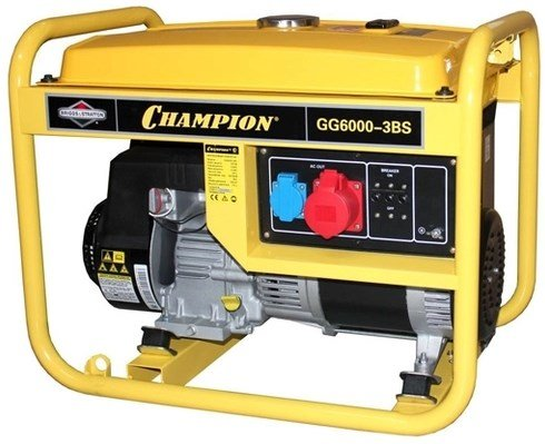 Бензиновый генератор Champion GG6000BS-3 фото