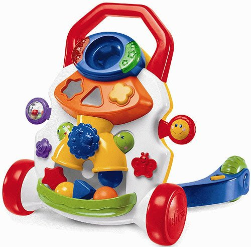 Каталка CHICCO BABY STEPS ACTIVITY WALKER
