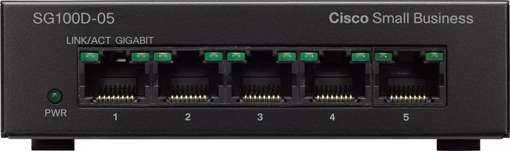 Коммутатор Cisco SG100D-05 (SG100D-05-EU)