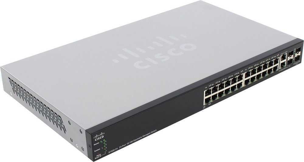 Коммутатор Cisco Small Business SF500-24 (SF500-24-K9-G5)