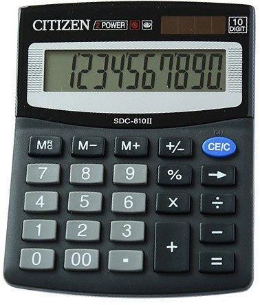 ���������� ����������� CITIZEN SDC-810II
