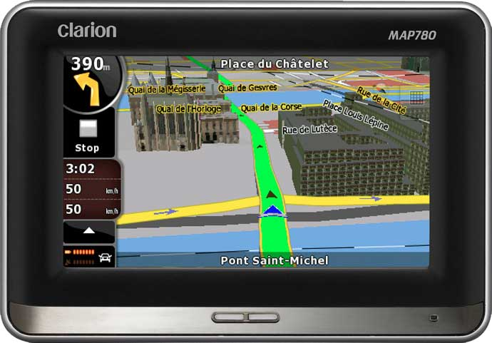 GPS-навигатор Clarion MAP780
