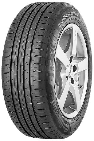Летняя шина Continental ContiEcoContact 5 195/65R15 91T