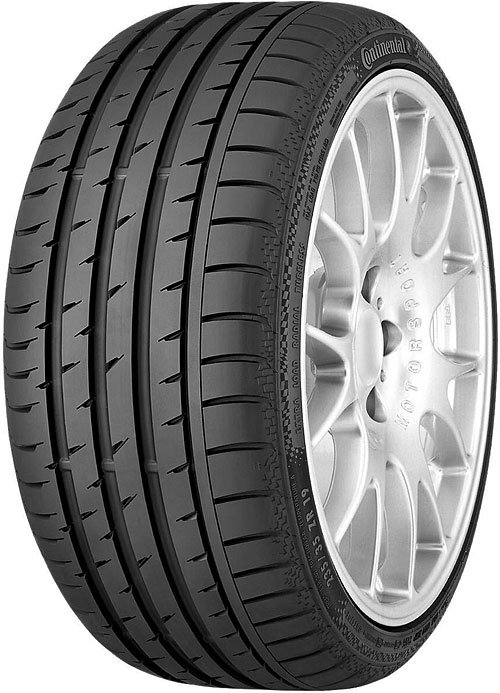 Летняя шина Continental ContiSportContact 3 235/50R17 96Y