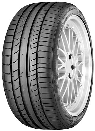 Летняя шина Continental ContiSportContact 5 235/55R18 100V