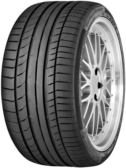 Летняя шина Continental ContiSportContact 5 P 235/35R19 91Y