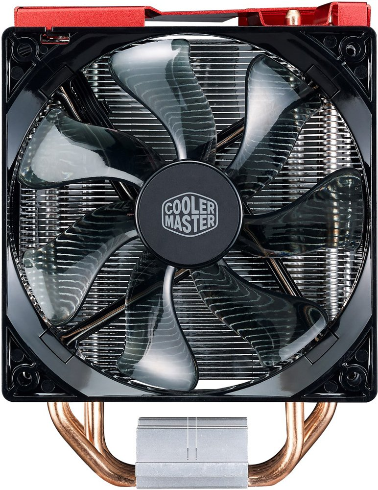 Кулер для процессора Cooler Master HYPER 212 LED TURBO Red фото