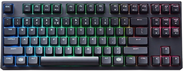 Клавиатура Cooler Master MasterKeys Pro S RGB Cherry MX Red фото