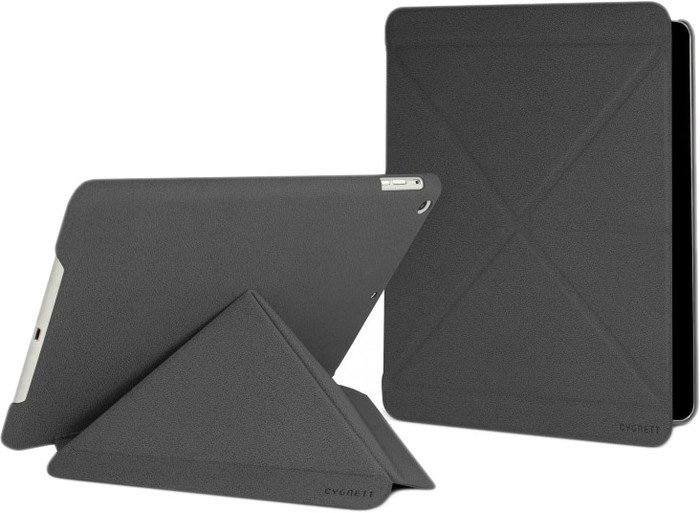 Обложка для планшета Cygnett Paradox Texture Charcoal for iPad Air (CY1325CIPTE)