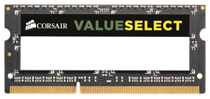 Комплект памяти Corsair Value Select CMSO16GX3M2A1600C11 DDR3 PC12800 2x8GB