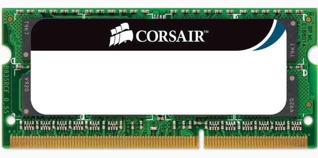 Модуль памяти Corsair CMSO8GX3M1A1333C9 DDR3 PC3-10600 8Gb
