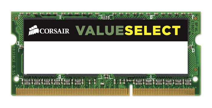 Модуль памяти для ноутбука Corsair Value Select CMSO8GX3M1C1333C9 DDR3 PC10600 8GB