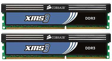 Модуль памяти Corsair CMX4GX3M2B1600C9 DDR3 PC12800 2x2Gb