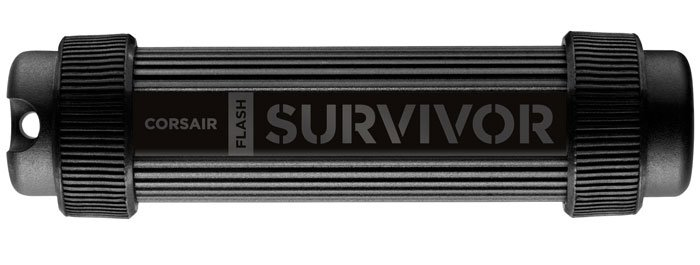 USB-���� ���������� Corsair Flash Survivor Stealth 64Gb (CMFSS3-64GB)