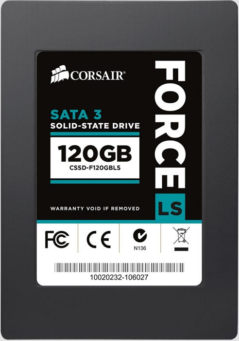 Жесткий диск SSD Corsair Force Series LS (CSSD-F120GBLS) 120 Gb
