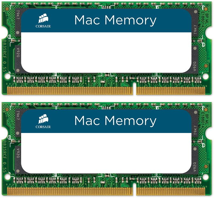 Комплект памяти Corsair MAC Memory CMSA16GX3M2A1600C11 DDR3 PC3-12800 2x8GB