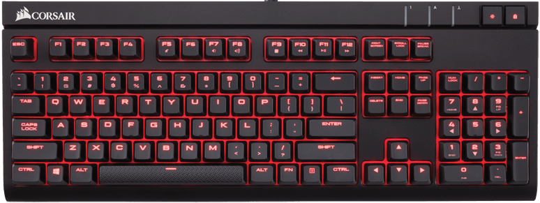 Клавиатура Corsair Strafe Cherry MX Red (CH-9000088-RU)