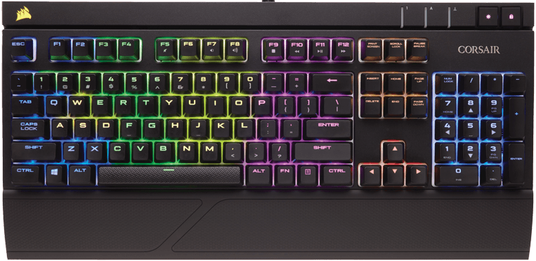 Клавиатура Corsair Strafe RGB Cherry MX Red (CH-9000227-RU) фото