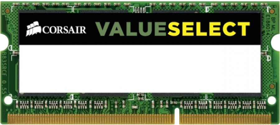 Модуль памяти Corsair Value Select CMSO4GX3M1C1600C11 DDR3 PC3-12800 4GB