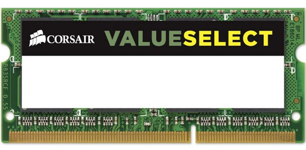 Модуль памяти Corsair Value Select CMSO8GX3M1C1600C11 DDR3 PC3-12800 8GB