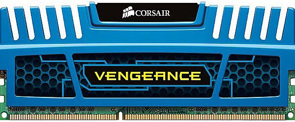 Модуль памяти Corsair Vengeance Blue CMZ16GX3M2A1600C10B DDR3 PC-12800 2x8Gb