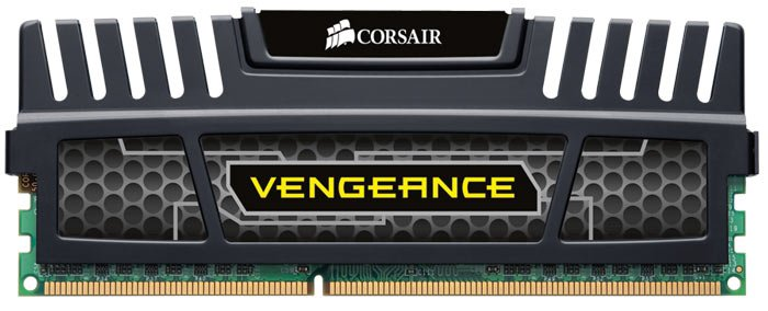 Модуль памяти Corsair Vengeance CMZ8GX3M4X1600C9 DDR3 PC3-12800 4x2GB