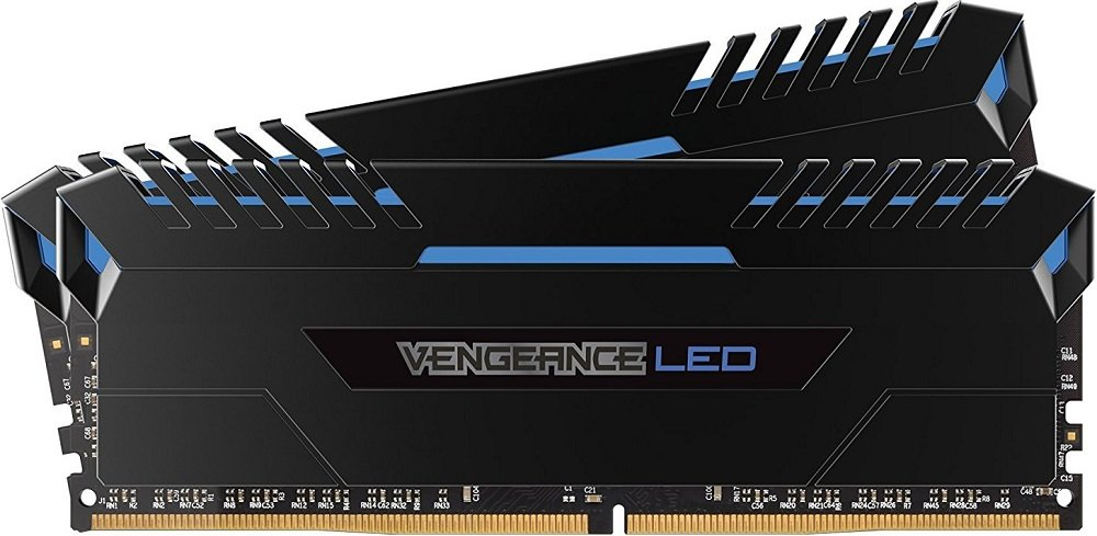 Комплект памяти Corsair Vengeance LED CMU16GX4M2C3000C15B DDR4 PC4-24000 2x8Gb фото