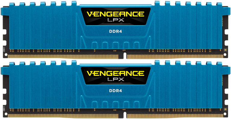 Комплект памяти Corsair Vengeance LPX CMK16GX4M2B3000C15B DDR4 PC4-24000 2*8Gb