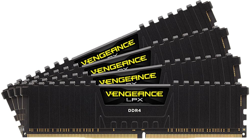 Комплект памяти Corsair Vengeance LPX CMK32GX4M4D3000C16 DDR4 PC4-24000 4x8Gb фото