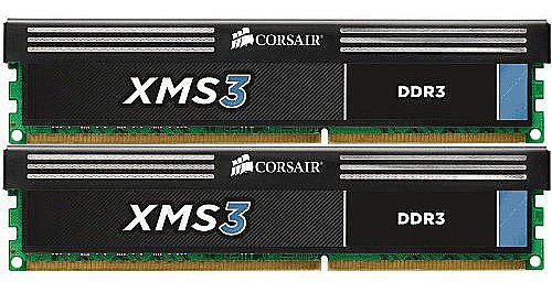 Модуль памяти Corsair XMS3 CMX16GX3M2A1600C11 DDR3 PC12800 2x8Gb