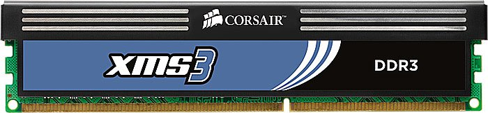 Модуль памяти Corsair XMS3 TW3X4G1333C9A DDR3 PC10600 2x2Gb фото