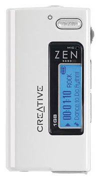 Flash - плеер Creative Zen Nano Plus 512Mb