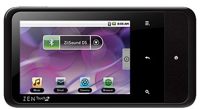 ���������� Creative ZEN Touch 2 8Gb (with GPS)