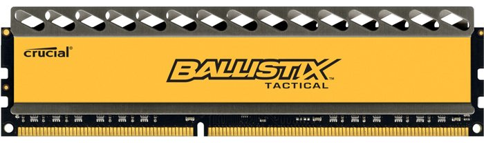 Модуль памяти Crucial Ballistix Tactical BLT8G3D1608DT1TX0CEU DDR3 PC3-12800 8Gb фото