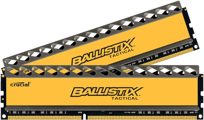 Комплект памяти Crucial Ballistix Tactical CL8 (BLT2CP8G3D1608DT1TX0CEU) DDR3 PC3-12800 2x8GB