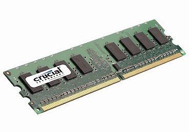 ������ ������ Crucial CT12864AA1067 DDR2 PC8500 1Gb
