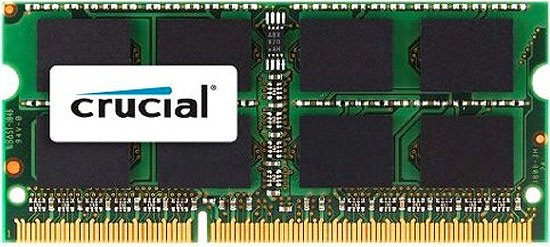 Модуль памяти Crucial CT12864BC1339 DDR3 SO-DIMM PC3-10600 1GB