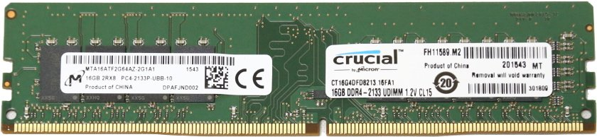 Модуль памяти Crucial CT16G4DFD8213 DDR4 PC4-17000 16Gb