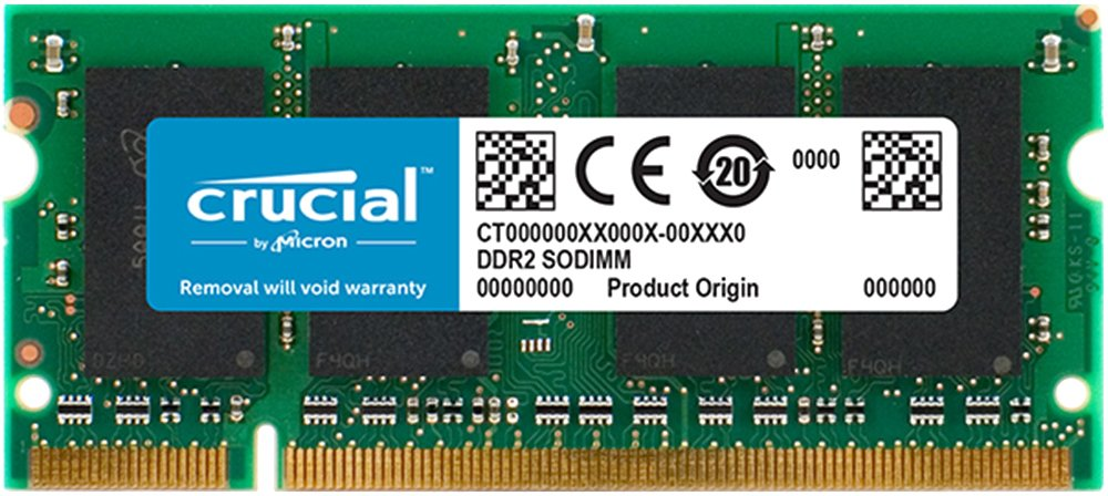 Модуль памяти Crucial CT16G4SFD824A DDR4 PC4-19200 16Gb