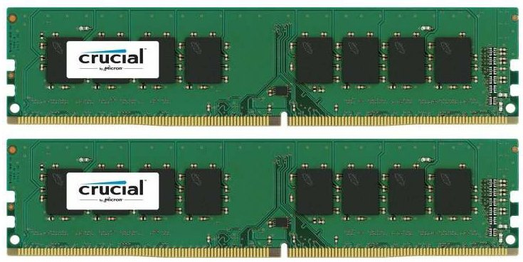 Комплект памяти Crucial CT2K8G4DFD8213 DDR4 PC-17000 2x8Gb