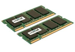 Модуль памяти Crucial CT2KIT25664AC800 DDR2 PC6400 2x2Gb