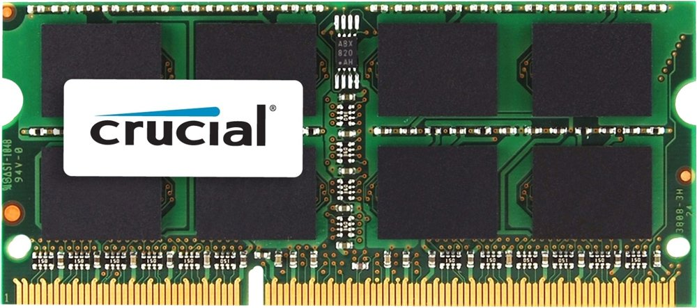 Модуль памяти Crucial CT4G3S160BMCEU DDR3 PC3-12800 4Gb