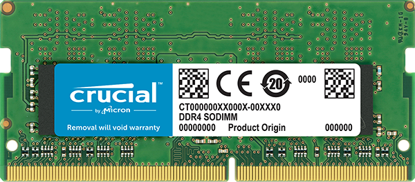 Модуль памяти Crucial CT4G4SFS824A DDR4 PC4-19200 4Gb