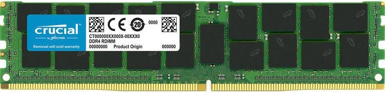 Модуль памяти Crucial CT64G4LFQ4266 DDR4 PC4-21300 64GB  фото